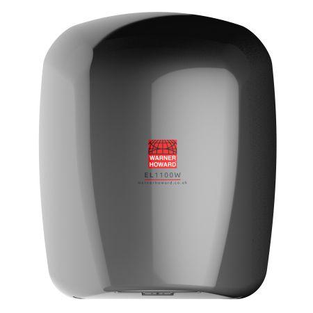 Warner Howard EL1100N High Speed Low Energy Hand Dryer Nickel