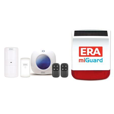 ERA miGuard A105 Wireless Apartment Alarm System with Solar Siren MGA105-SS