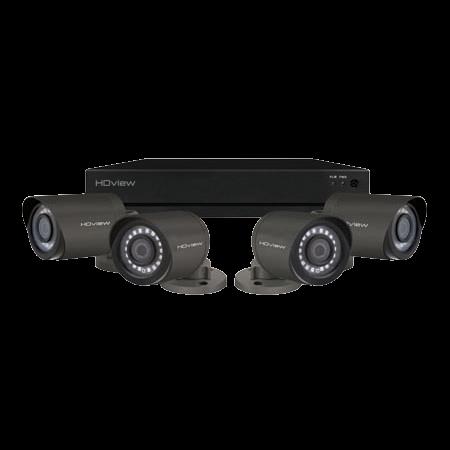 ESP DigiviewHD+ 4 Channel Super HD 2TB Grey External Camera CCTV System SHDV4KB4G2TB