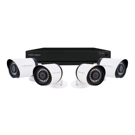 ESP DigiviewHD+ 4 Channel Super HD 2TB White External Camera CCTV System SHDV4KB4W2TB