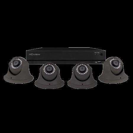 ESP DigiviewHD+ 8 Channel Super HD 1TB Grey Dome Camera CCTV System SHDV8KD4G