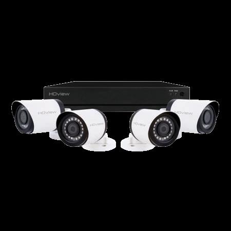 ESP DigiviewHD+ 8 Channel Super HD 1TB White External Camera CCTV System SHDV8KB4W