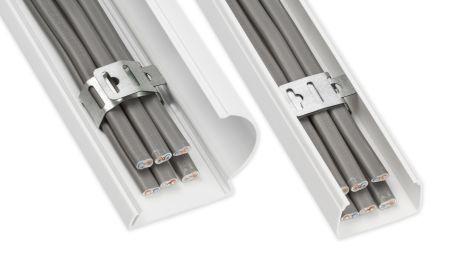D-Line Safe-D F-Clip40 for 38mm+ Trunking - PACK OF 50 | SAFEDFCLIP40/50