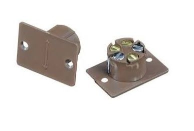 CQR Flush Contact Alarm Contact Brown | FC505/BR