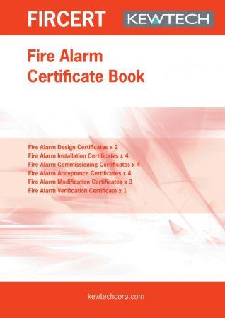 Kewtech FIRCERT Fire alarm Certification Book