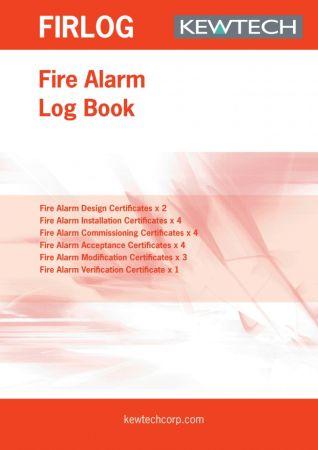 Kewtech FIR1LOG Fire Alarm Log Book