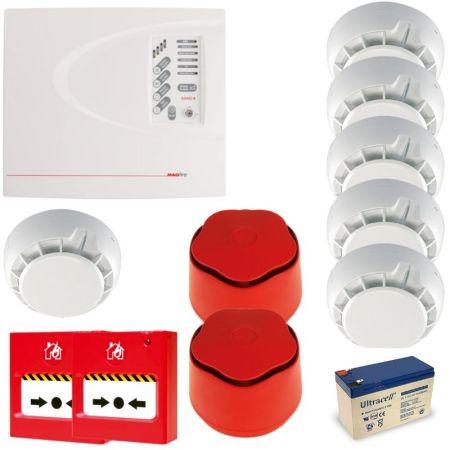 ESP Fireline 4 Zone Conventional Fire Alarm Kit FLK4PH
