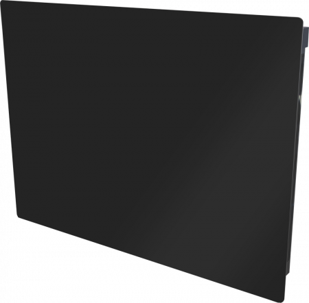 Dimplex Girona 1.0kW Black Glass Lot 20 Compliant Panel Heater GFP100BE
