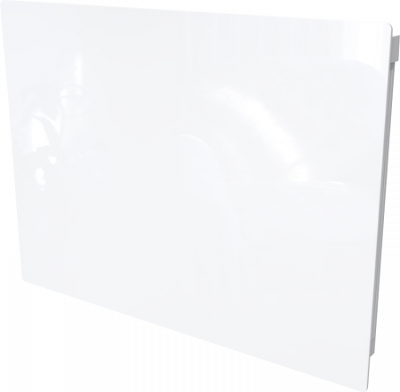 Dimplex Girona 1.0kW White Glass Lot 20 Compliant Panel Heater GFP100WE