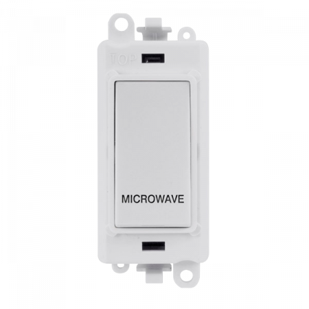 Click GRIDPRO 20A Double Pole Switch White MICROWAVE | GM2018PW-MW