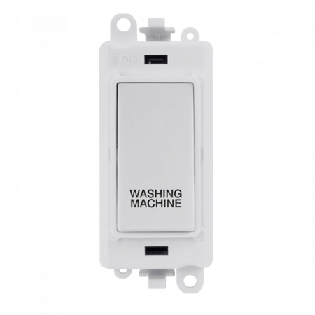 Click GRIDPRO 20A Double Pole Switch White WASHING MACHINE | GM2018PW-WM