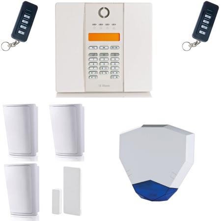 Visonic PowerMaster GTX Compact Wireless Alarm & Hexagon Siren | Alert Electrical