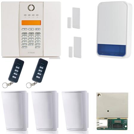 Visonic PowerMaster GTX Compact Wireless Alarm System With IP Module |  0-103777