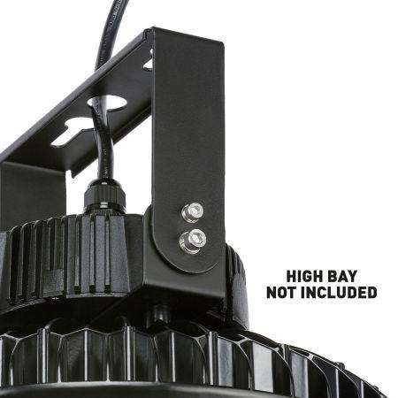 Knightsbridge HBLU1 U Bracket Surface Mount Fitting for UFO High Bay HBL100/HBL150