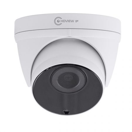 ESP HDVIEW IP White 2.8-12mm Varifocal Lens 5MP 1920p Resolution IP Dome Camera | HDVIPC2812VFDW