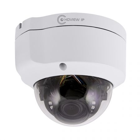 ESP HDVIEW IP White 2.8mm Lens 5MP IP Vandal Resistant Dome Camera | HDVIPC28FDWAV