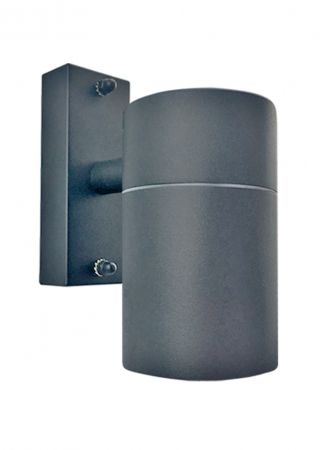 Hispec Down Wall Light Anthracite Grey Finish | HSLEDDL/GRY