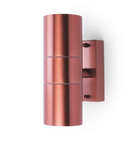 Hispec Coral Up and Down Wall Light Copper | HSLEDUL/COP