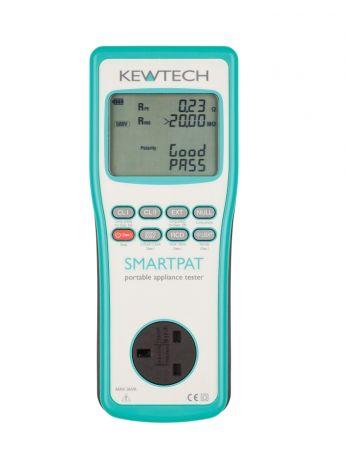 Kewtech SMARTPAT WiFi Enabled Battery Operated 230V/110V Pat Tester