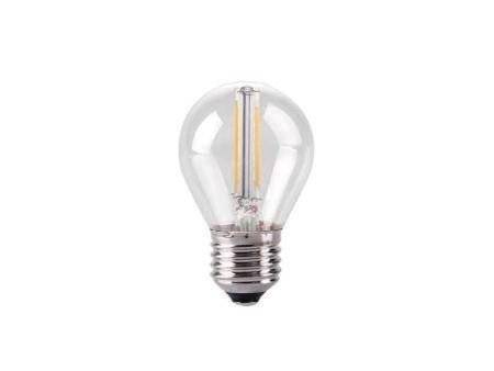 Kosnic 2w LED Filament Clear Golf Lamp ES/E27 2700K KFLM02GLFE27-CLR
