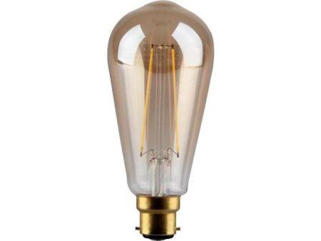 Kosnic Lamps 4w Decorative LED Filament Gold ST64 Lamp BC/B22 Datasheet