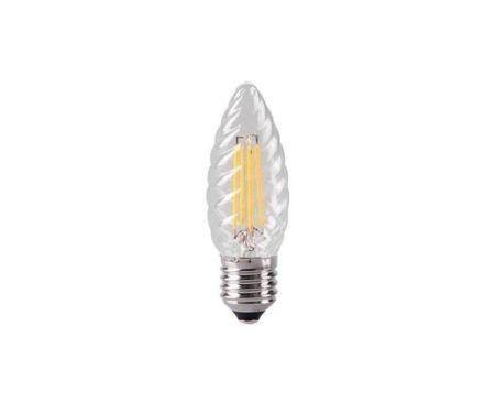 Kosnic 2w LED Filament Twisted Candle Lamp ES/E27 KFLM02TWTE27-CLR