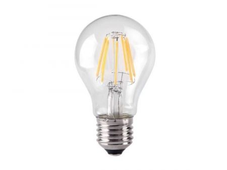Kosnic 7w LED Dimmable Filament GLS Lamp ES/E27 2700K
