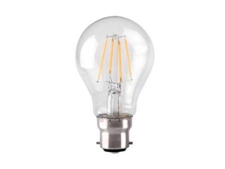 Kosnic 4.5w LED Filament GLS Clear Lamp BC/B22 2700K