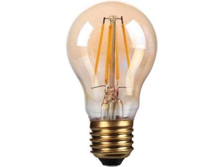 Kosnic Lamps 4w Decorative LED Filament Gold GLS Lamp E27/ES