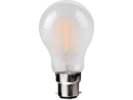 Kosnic 4.5w LED Filament GLS Frosted Lamp BC/B22 2700K KFLM4.5GLSB22-FRS