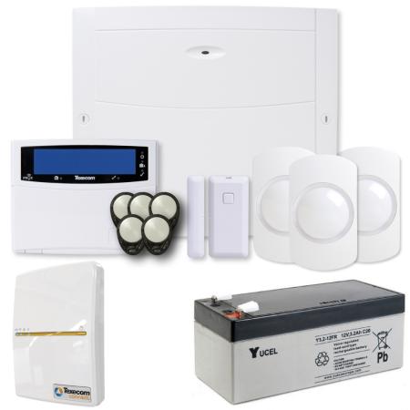 Texecom Ricochet Premier Elite 64W Wireless Alarm Kit Wired Keypad & SmartCom | KIT-1086-WIFI