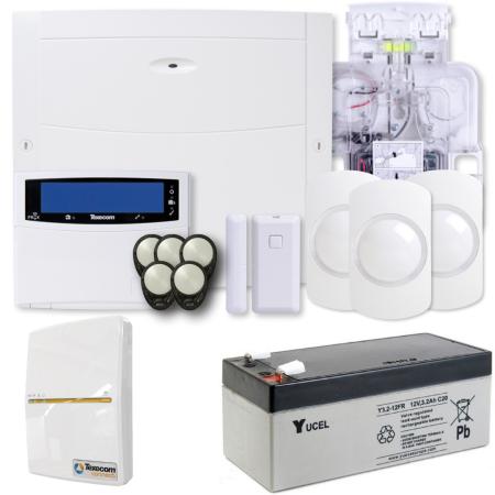 Texecom Ricochet Premier Elite 64W Wireless Alarm Kit & SmartCom | KIT-1002-WIFI