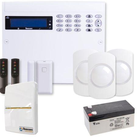 Texecom Ricochet 64W-LIVE Wireless Alarm Kit & SmartCom | KIT-1003-WIFI