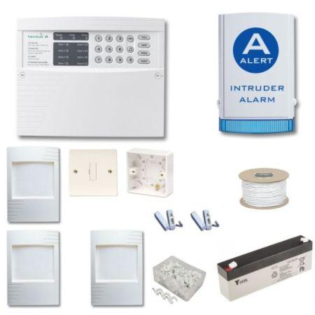 Texecom Veritas 8 Burglar Alarm Kit With Alert Bellbox