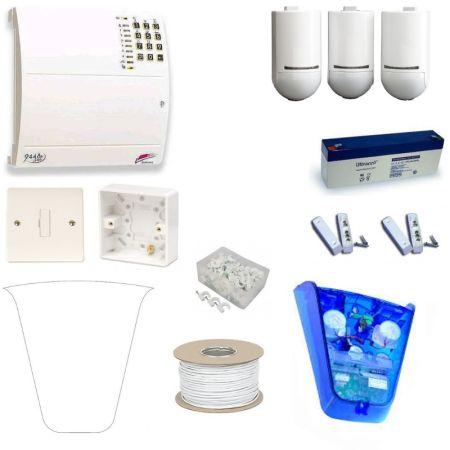 Scantronic 9448EUR90 Fully Featured Pet Tolerant Burglar Alarm Kit