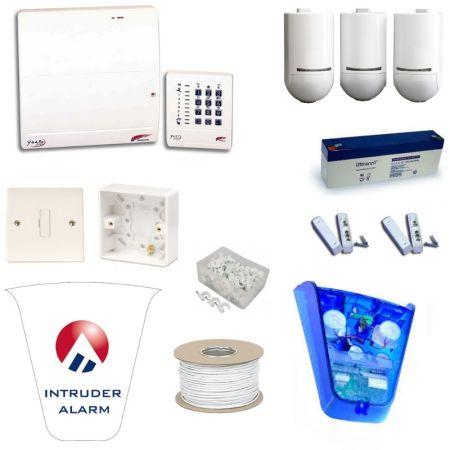 Scantronic 9448EUR95 Fully Featured Pet Tolerant Burglar Alarm Kit with Alert Bellbox