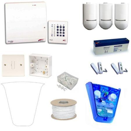 Scantronic 9448EUR95 Fully Featured Pet Tolerant Burglar Alarm Kit