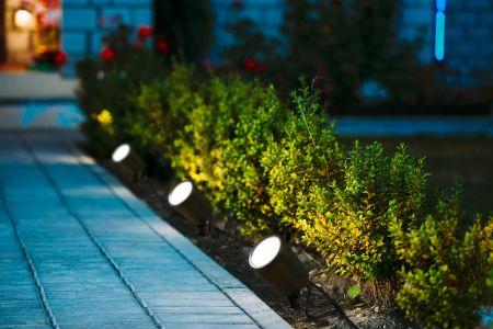 Link2Home 3 in 1 Smart Garden Full RGB Spike Light Kit | L2H-ODRLIGHT3IN1
