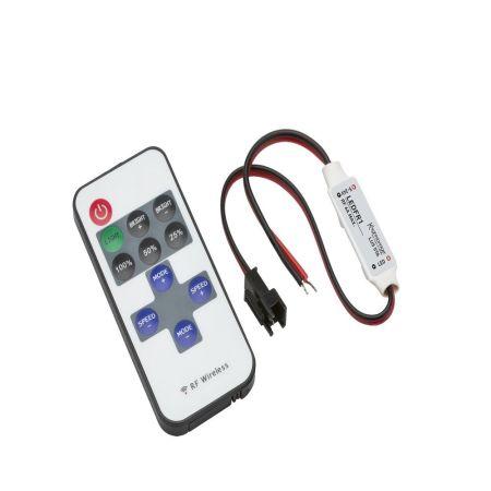 Knightsbridge LEDFR1 12V/24V In-Line RF Controller and Dimmer for Knightsbridge Single Colour Flex