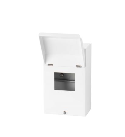 Live Electrical 4 Way Metal Clad Consumer Unit | LHMC04