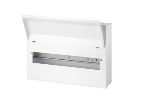 Live Electrical 10 Way Metal Clad Consumer Unit | LHMC10