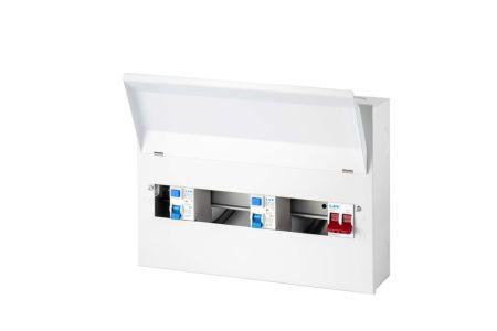 Live Electrical 18 Way Flush Split Load Consumer Unit | FMC1863TR
