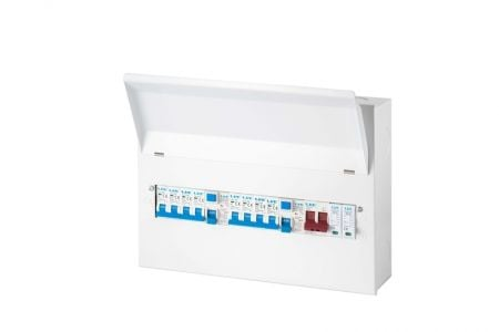 Live Electrical 18 Way Populated Surge Protection Consumer Unit | LHMC1863TR-AS