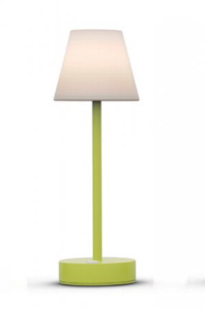Be Happy LOLA SLIM30 USB Rechargeable Table Lamp Lime Green   LUMLLS030LIWLNW