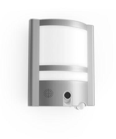 Lutec Vesta Wall Light c/w Camera and PIR Motion Sensor ST1906-CAM