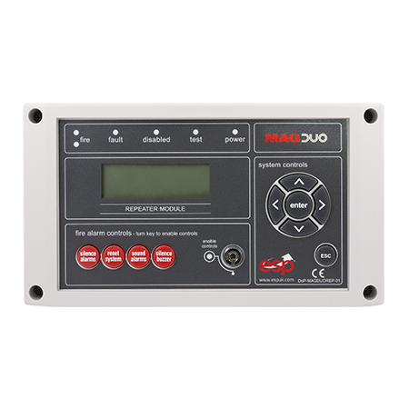 ESP MAGDUO Repeater Panel for MAGDUO 4 or 8 Zone Panels White | MAGDUOREP