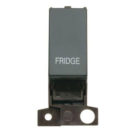 "MD018BKFD 13A Resistive 10AX Black Switch Module - ""Fridge"""