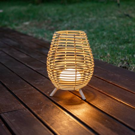 Be Happy BOSSA 30 Battery Decorative Lamp | LUMBOS030XXWLNW