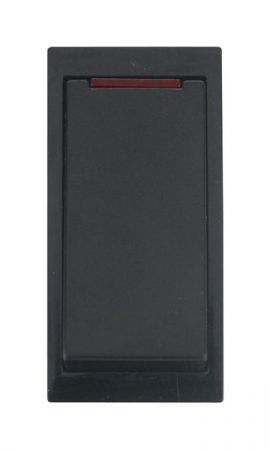 Click New Media 20A DP Media Switch with Neon Black MM023BK