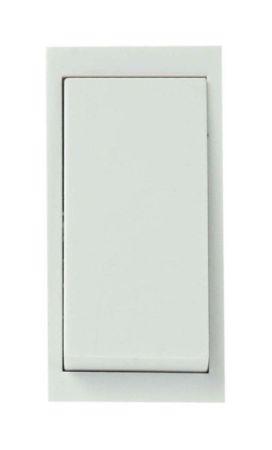 Click New Media 10AX Intermediate Media Switch Module White MM025WH